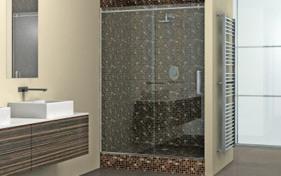 Glas Duschanlage 1