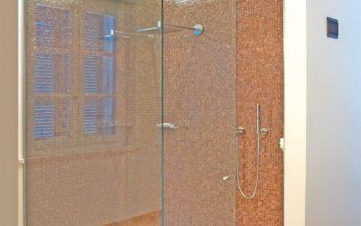Glas Duschanlage 2