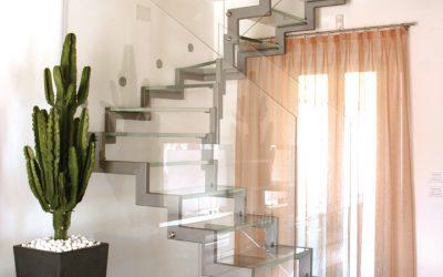 Glas Stiegenaufgang 2