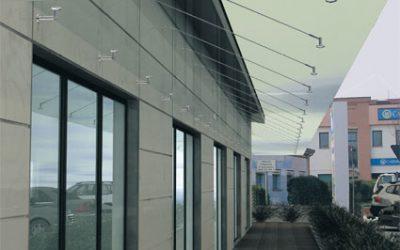 Glas Vordachsystem 1