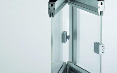 Glaswand Faltsystem